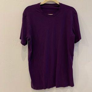 Lululemon Athletic Tee Shirt Purple M